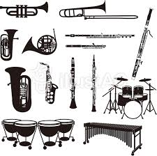 楽器のシルエットイラスト No 547992無料イラストならイラストac