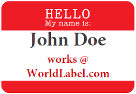 Avery Badge Templates Name Badge Labels Free Printable Labels Templates Label
