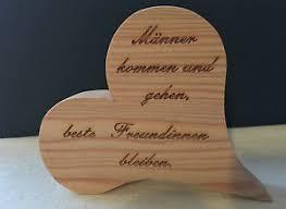 Deko Herz Aus Holz Geschenk Spruch Sprüche Freundschaft Familie