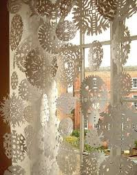 Image Result For Schneeflocken Basteln Watte Fensterdeko