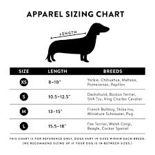 Dachshund Size Chart Wild Beast T Shirt