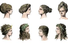 ancient greek hairstyles for men and woomen