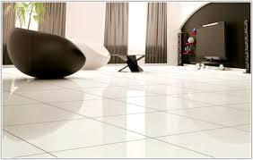 Exellent White Floor Tiles Living Room Design For O In Models Ideas