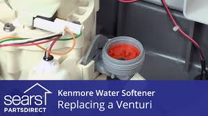 How To Repair A Water Softener How To Replace A Kenmore Water Softener Venturi Youtube