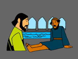 Image result for Jesus who man cured in the pool