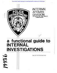 internal affairs division