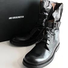 ann demeulemeester ann demeulemeester pirate boots black 40 5