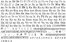 macedonian fonts cyrillic ii font