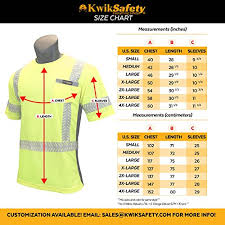 Kwiksafety Charlotte Nc Discovery Crew Neck Fishbone Tape Class 2 Ansi High Visibility Safety Shirt With Pocket Reflective Tape Construction