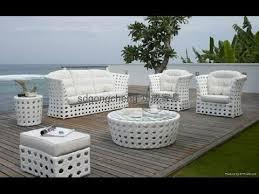 White Wicker Patio Furniture Modern Ideas Pinterest With Regard To 7