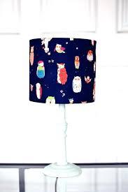 navy lamp royal blue lamp small blue lamp navy blue lamp navy lamp shade lampshade by small royal