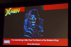 x men will bring back the shadow king as a big bad astonishing x men will bring back the shadow king as a big bad
