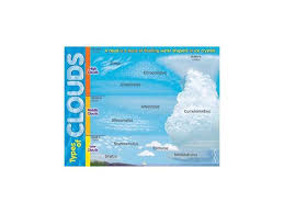 Trend Enterprises T 38298 Learning Chart Types Of Clouds Newegg Com