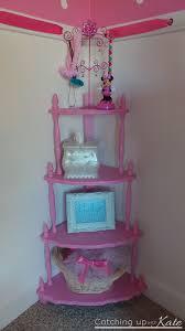 painted corner shelf