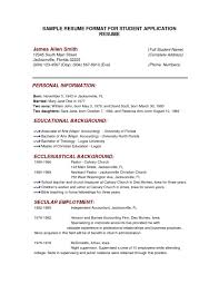Resume Examples Templates Best 10 College Application Resume College