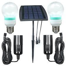 Solar Panel Light Kits For Camping  3 Cool Solar Lighting KitsSolar Powered Lighting Kits
