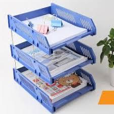 desk office file document paper. Plastic Magazine File Holder Desk Document Letter Office Paper Tray Organizerdesktop A41 30
