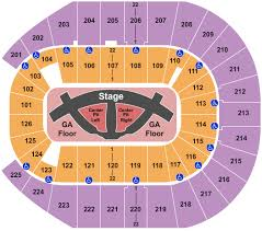 Carrie Underwood Seating Chart Interactive Seating Chart