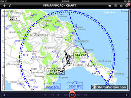 Jeppesen Charts App Ipad Jeppesen Airplane Airport Vfr Approach Chart Obama