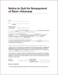 Legal Forms Eviction Notice Fax Letter Format Sample
