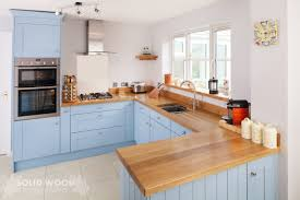 Grey Blue Kitchen Cabinets Solid Wood Kitchen Cabinets Image Gallery
