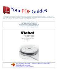 Irobot Blinking Red Light Operating Instructions Irobot Roomba 599 Manualzz Com