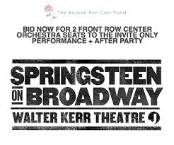 Springsteen On Broadway Seating Chart Backstreets Com Springsteen News Archive Sep Oct 2017