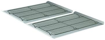 cookie sheet with cooling rack