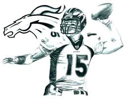Coloring Pages Of Football Players Cartoon Player College Free