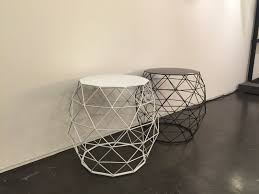 wire furniture. Wire Furniture Accents Shape Spaces In Unexpected Ways : Stools Or Coffee Tables