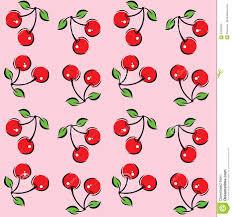 Cherry Pattern Unique Decorating