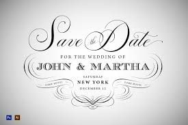 Blank Save The Date Cards 90 Gorgeous Wedding Invitation Templates Design Shack