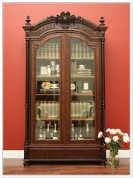 antique display cabinets with glass doors shock awe inspiring china home ideas 24