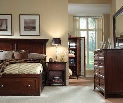 Queen bedroom sets with storage Sleigh Additional Video Additional Video Additional Video Additional Video Additional Video The Ellsworth Queen Storage Bedroom Levin Furniture Ellsworth 4piece Queen Storage Bedroom Set Cherry