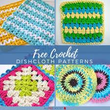 Dishcloth Crochet Patterns