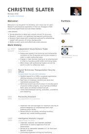 Resume Stock Market Trader Lezincdc Com