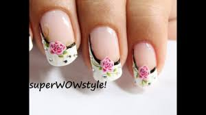 Nail Designs Pictures French Tip Water Decals Sideways French Manicure Nail Designs French Tip Nail Art
