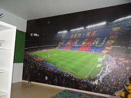 Een Voetbalstadion Thuis Interieurdecoratie Lostinmagicnl