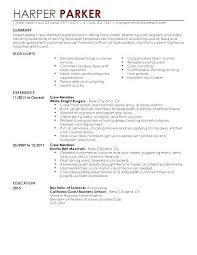 Waitress Resume Examples Impressive Waitress Resume Example Ple Skills Of Cocktail Ples Human Resources