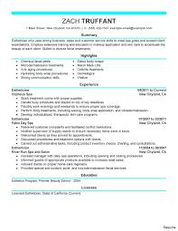 Hair Stylist Job Description Resume Modern Hair Stylist Resume Esthetician Job Description By Zach 18