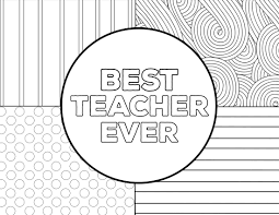 Personalize and print national teacher appreciation week cards from home in minutes! Teacher Appreciation Coloring Pages Paper Trail Design