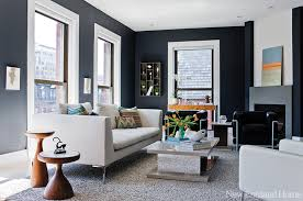 sleek living room furniture. a sleek living room in bostonu0027s back bay has contemporary slate fireplace photo by furniture e