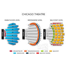 47 All Inclusive The Chicago Theater Seating