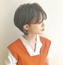 ボーイッシュショートの女性の髪型15選黒髪ボブのヘアアレンジは Belcy
