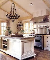 rustic white country kitchen.  Kitchen Inside Rustic White Country Kitchen T