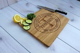 personalized cutting board engraved cutting board custom wedding gift cb wo