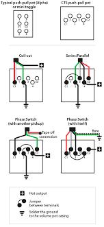 push pull wiring diagram schema wiring diagram online wiring the cts dpdt push pull pot stewmac com push pull pot wiring diagram push pull wiring diagram