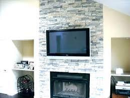 refacing brick fireplaces stone