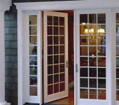 these interior 8 foot french doors are tall but not overbearing
