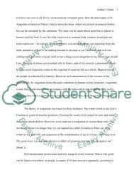 evil in st ine s confessions essay example topics and well text